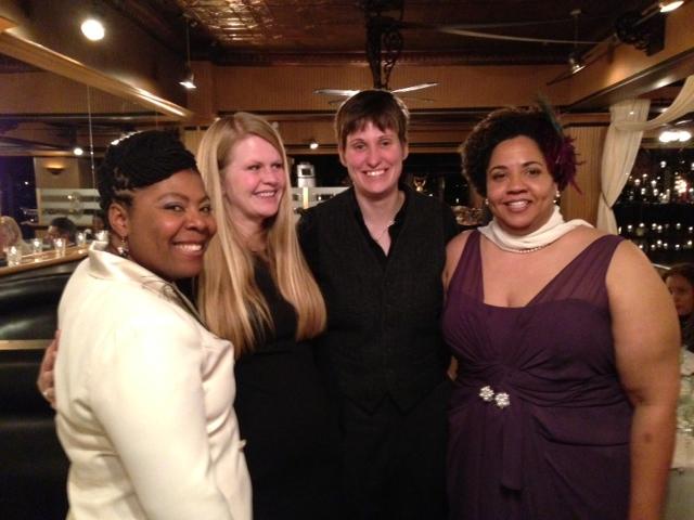 ML, Aubrey, Heather, Judy