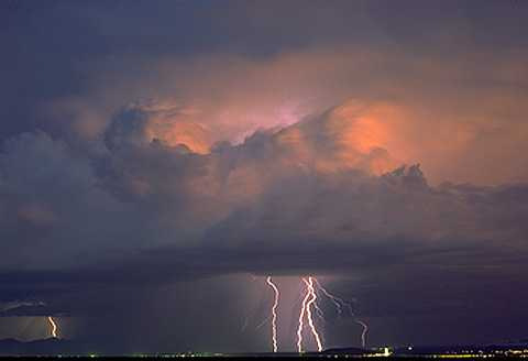Thunderstorm Picture by NOAA