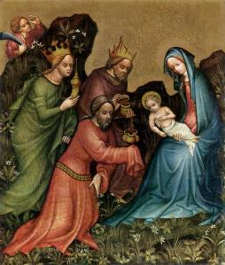 Master of Vienna, Adoration (1410), FB Page The Celtic Christian Tradition
