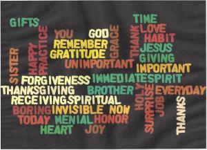 Wordle gratitude
