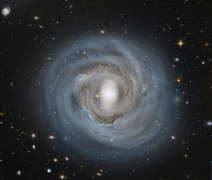 "God said ""Let  there be light"" (ngc4921, NASA)"