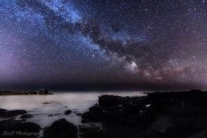 Auchmithie Milky Way, B&B Photography, 14.05.04