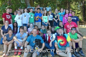 CYF, Chi Rho Camp Pic, 2014