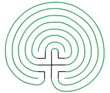 Fig. 5 The Finished Labyrinth