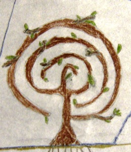 tree of life labyrinth