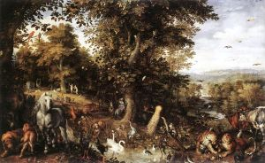 Garden of Eden, Jan Brueghel, 1612