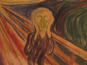 The Scream by Van Gogh