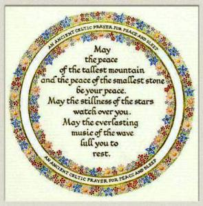 A Celtic Prayer,  from The Celtic Christian Tradition September 25, 2013