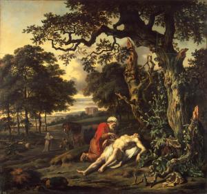 Jan Wijnants, Parable of the Good Samaritan, 1670