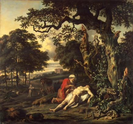 Jan Wijnants, Parable of the Good Samaritan, 1670