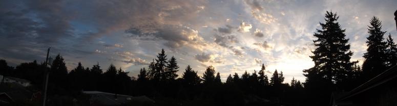 Sunrise, Edmonds WA September 2, 2013 Ruth Jewell